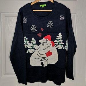 Holiday Polar Bear Festive Christmas Sweater